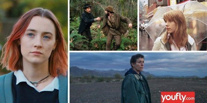 Κολάζ με τις καλύτερες ταινίες από γυναίκες σκηνοθέτες