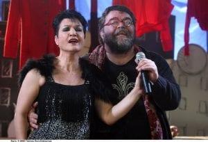 Ο Σταμάτης Κραουνάκης και η Κατιάνα Μπαλανίκα