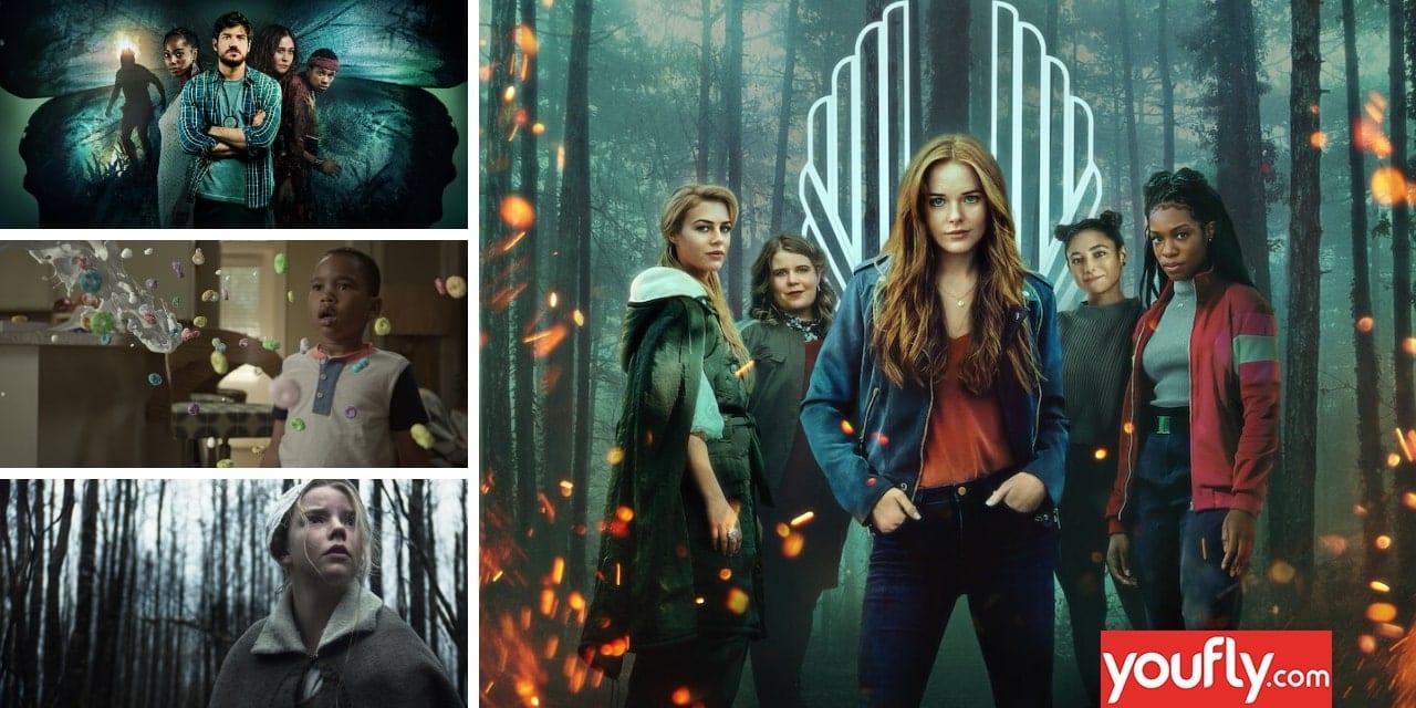 Κολάζ με ταινίες και σειρές σαν το fate the winx saga