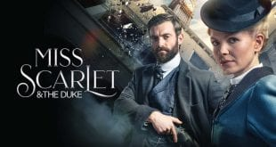 Πλάνο από την σειρά της Cosmote TV Miss Scarlet & The Duke