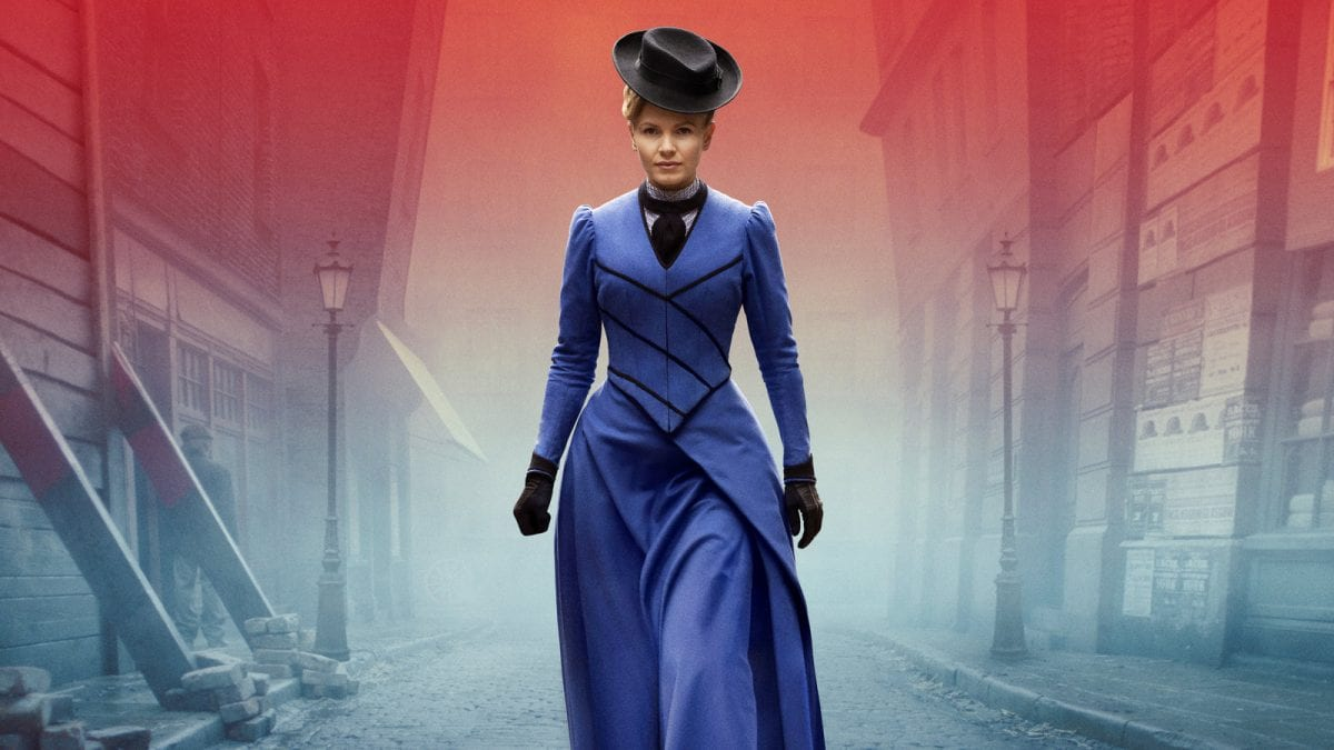 Πλάνο από την πρωταγωνίστρια της σειράς Miss Scarlet & The Duke