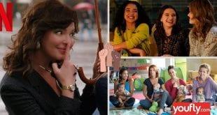 Σε κολάζ σειρές του Netflix με πρωταγωνίστριες γυναίκες