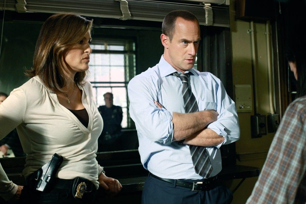 Elliot Stabler και Olibia Benson στην σειρά Law & Order Organized Crime
