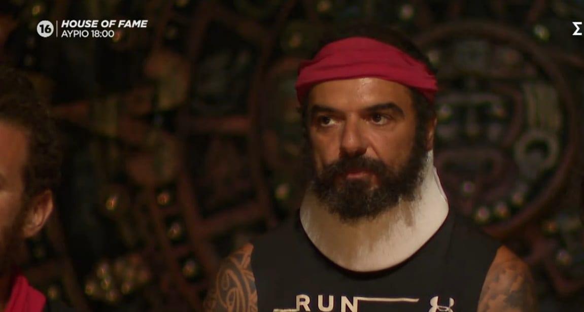 Survivor-Με-κολάρο-εμφανίστηκε-χθες-ο-Ντάφι