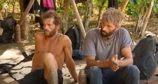 Survivor - Τρέιλερ 2/3 - Στην εικόνα ο Αλέξης και ο Chris