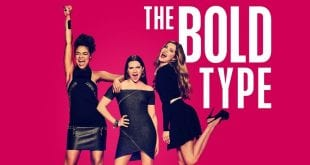 Αφίσα από την σειρά the bold type
