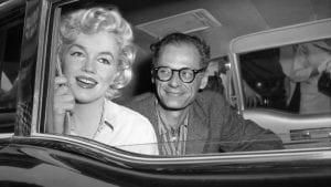 Η Marilyn Monroe με τον Arthur Miller