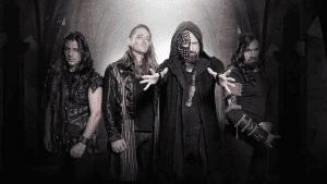 Nightfall μπάντα, που έχει κοινωνικά πολιτικά τραγούδια