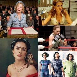 Σε κολάζ ταινίες για την παγκόσμια ημέρα γυναίκας
