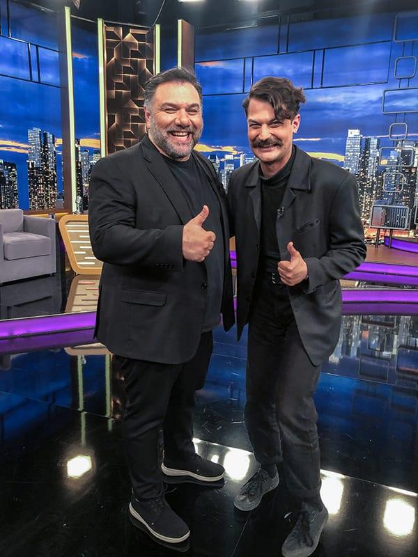 Γερονικολού και ο Απόστολος Καμιτσάκης στο The 2Night Show
