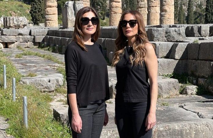 Μαρία Ναυπλιώτου και Δέσποινα Βανδή - εκπομπή My Greece