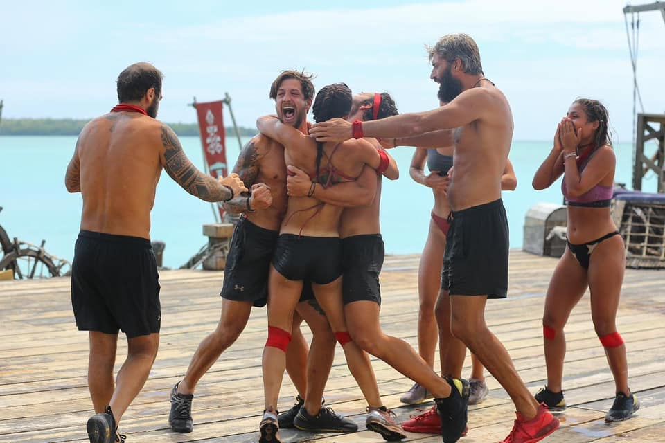Η κόκκινη ομάδα κέρδισε χθες 12/4 στο Survivor