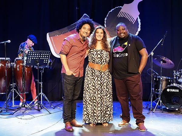 Jerome Kaluta, Κατερίνα Πολέμη και Yoel Soto - Afrogreco Live Streaming Concert