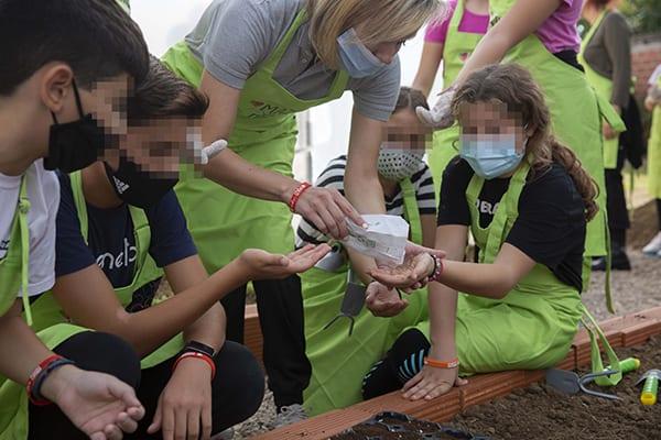 η ένωση Μαζί για το Παιδί δημιουργεί θερμοκήπιο σε σχολείο