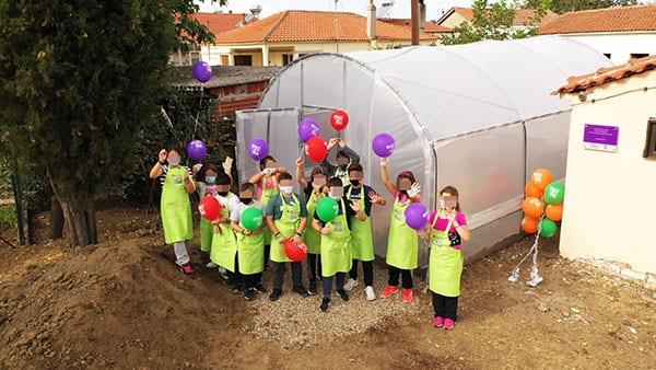 παιδιά σε σχολείο στον Έβρο