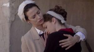 Η Ασημίνα κλαίει στην αγκαλιά της Ουρανίας