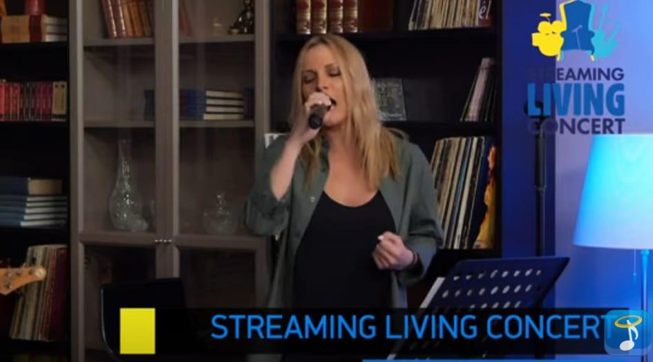 Πέγκυ Ζήνα Streaming Concert της Heaven Music στις 22.4