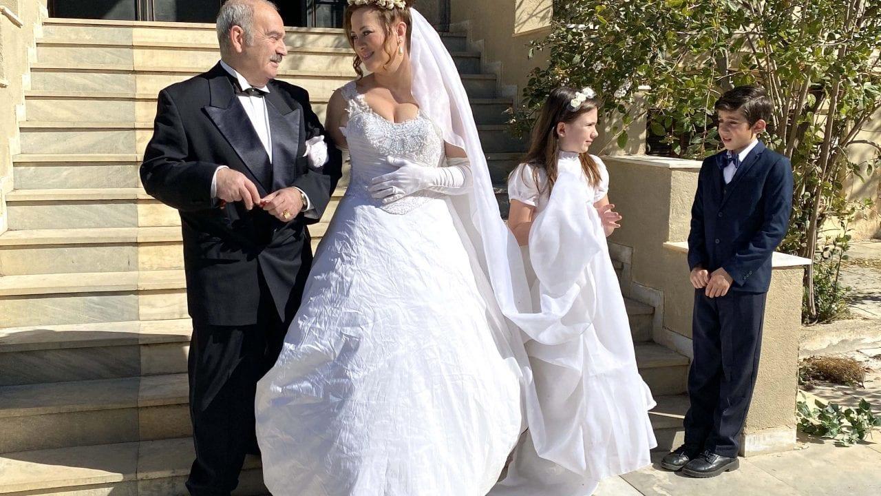 σκηή από το γάμο που θα γίνει στη σειρά Τα καλύτερά μας χρόνια στα επεισόδια 42-43