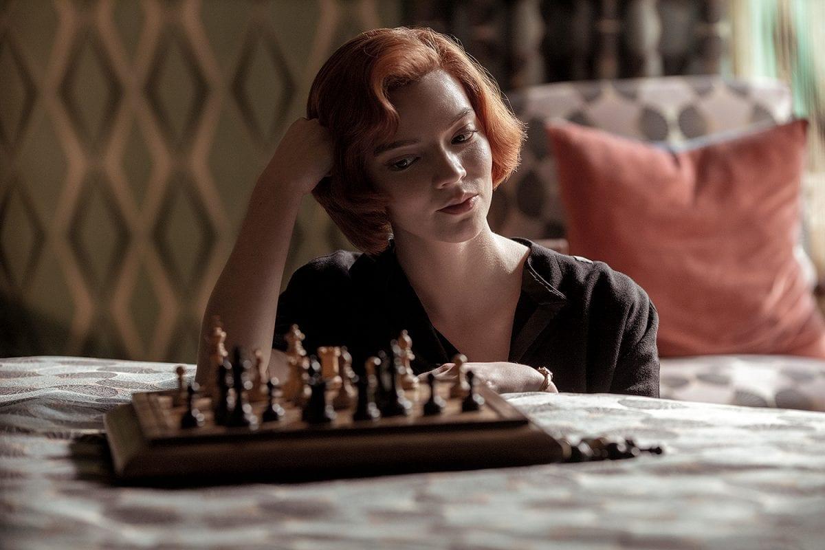 Σκηνή από την μίνι σειρά Το Γκαμπί της Βασίλισσας