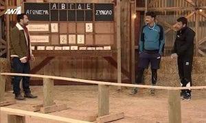 Πλάνο από επεισόδιο στην Φάρμα