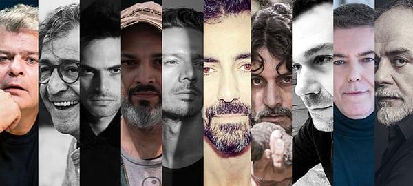 ελληνικό θέατρο στο ραδιόφωνο του Αθήνα 9.84 - φωτογραφία με όλους τους σκηνοθετες των έργων που θα παρουσιαστούν