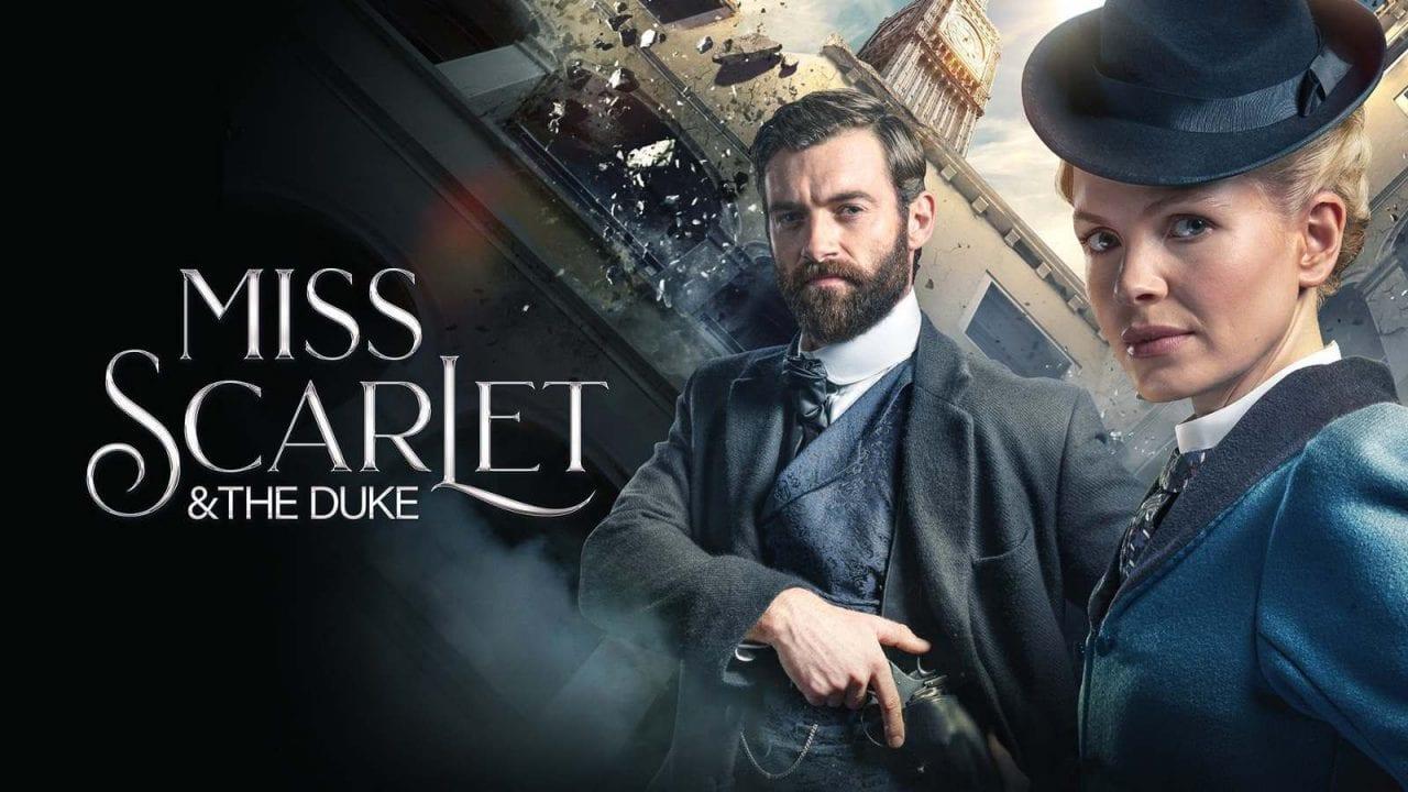 ξένες σειρές ERTFLIX - Miss Scarlet and the Duke