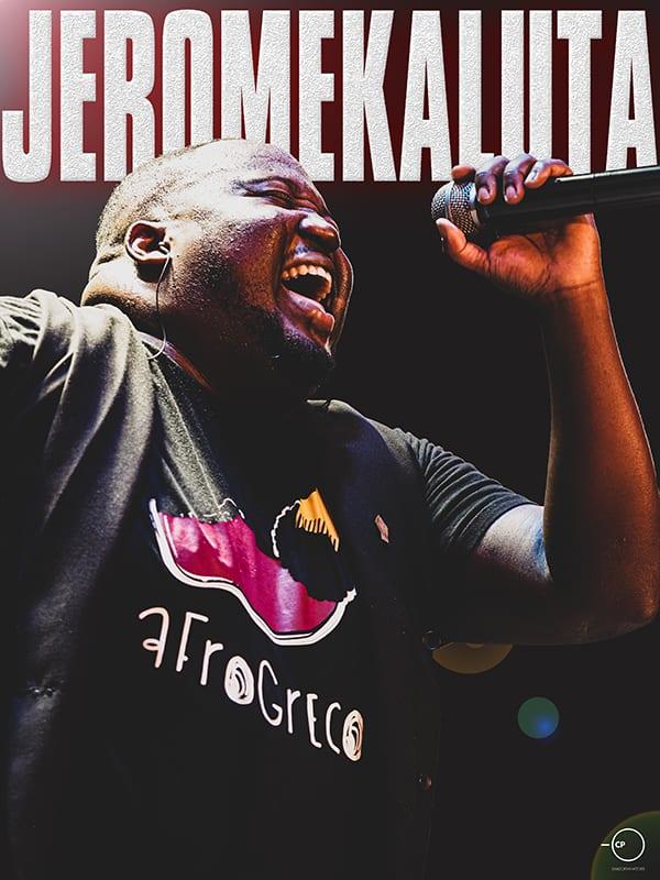 ο Jerome Kaluta Afrogreco σε Live Streaming Concert