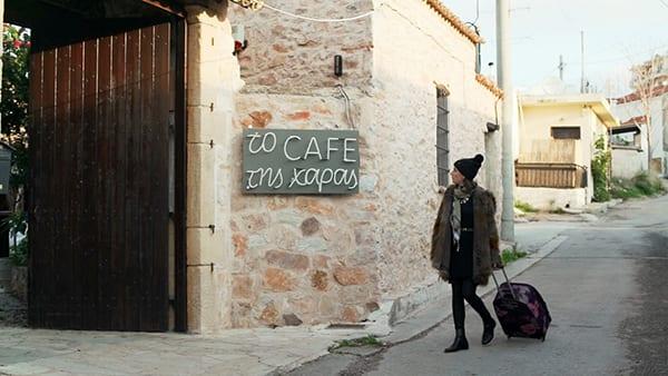 Όλγα Σκιαδαρέση - νέο επεισόδιο Το καφέ της Χαράς στις 7.4