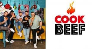 Οι σεφ από το Cook beef με το λογότυπο