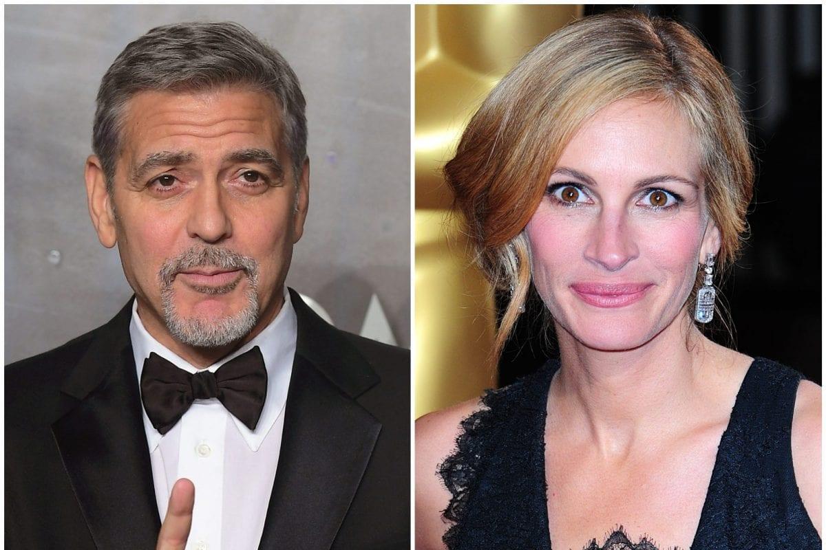 Ο George Clooney και η Julia Roberts