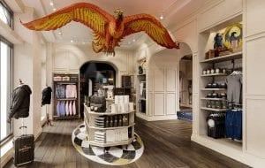 Harry Potter μαγαζί