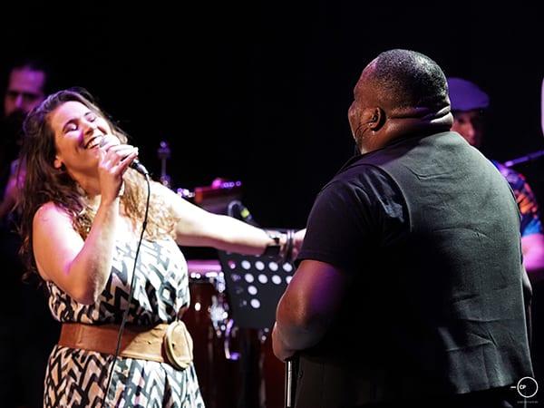 Κατερίνα Πολέμη και Jerome Kaluta Afrogreco Live Streaming Concert