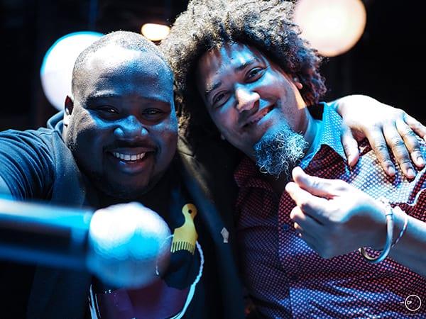 Yoel Soto και Jerome Kaluta Afrogreco σε Live Streaming Concert