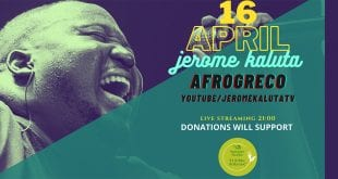 Jerome Kaluta Afrogreco Live Streaming Concert