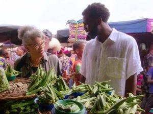 Ντοκιμαντέρ με μαγειρική στην αφρική