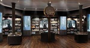 Τα ραβδιά στο νέο harry potter μαγαζί