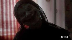 Τρομακτική φωτογραφία από το θρίλερ haunted με μια μούμια