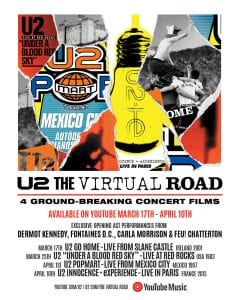 u2 the virtual road αφίσα