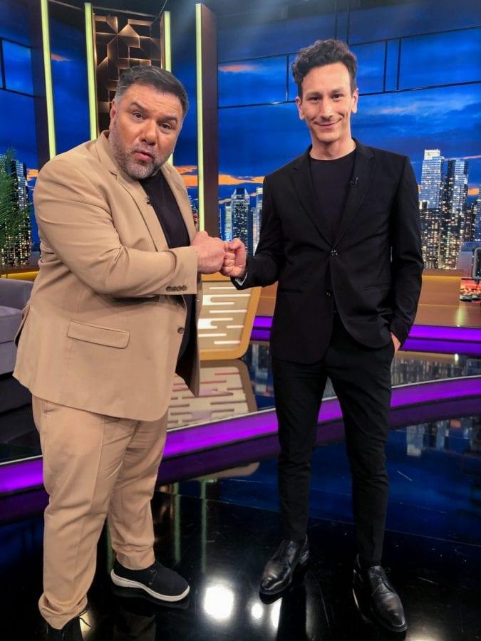 Καπουτζίδης, Μιχάλης Σαράντης Ράντου καλεσμενοι του Γρηγόρη Αρναούτογλου στο The 2Night Show