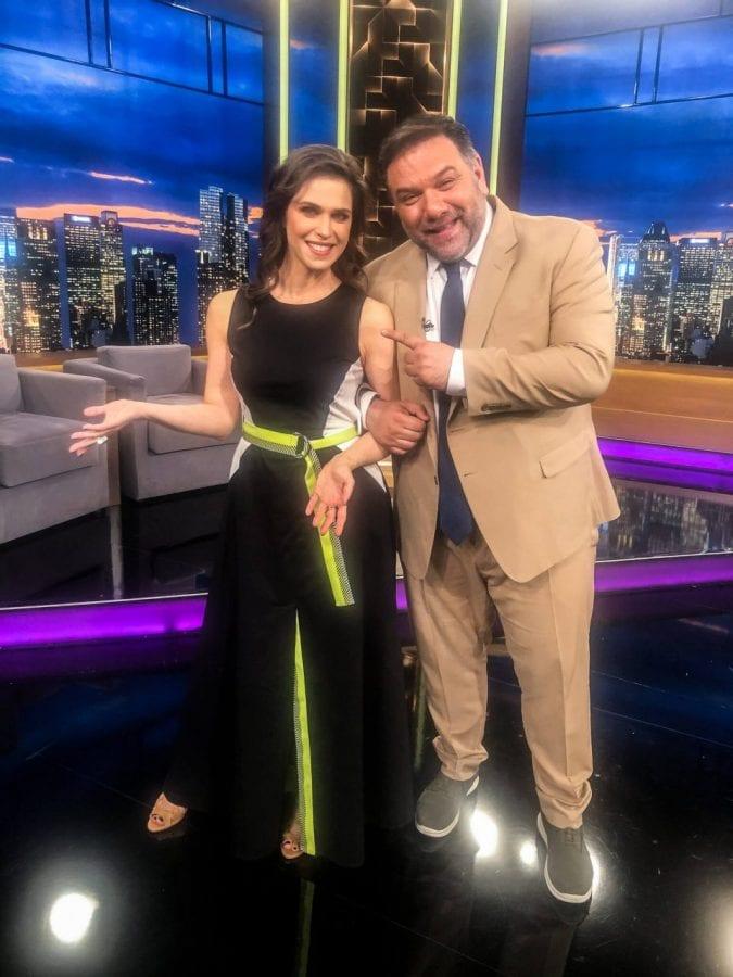 Η Αντιγόνη Δρακουλάκη και οι Ελένη Καρακάση και Τάκης Χρυσικάκος The 2Night Show