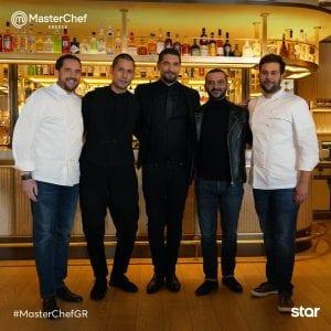 Δύο διάσημους σεφ υποδέχθηκαν χθες οι τρεις κριτές