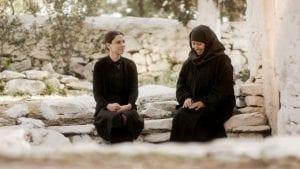 Η Σοφούλα και η μοναχή στο μοναστήρι