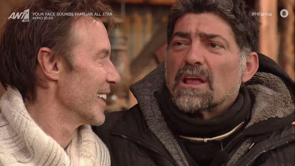 Ο Ιατρόπουλος αποχαιρετά το φίλο του, Στράτο Τζώρτζογλου