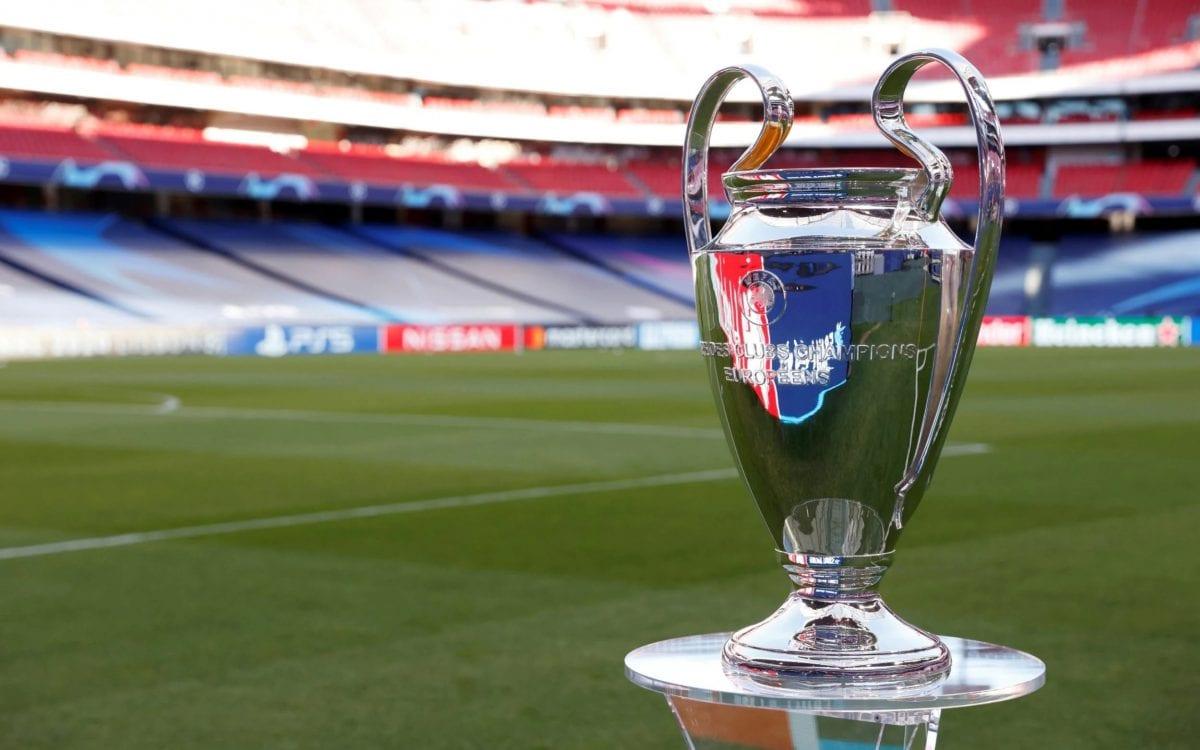 Το τρόπαιο του Champions League