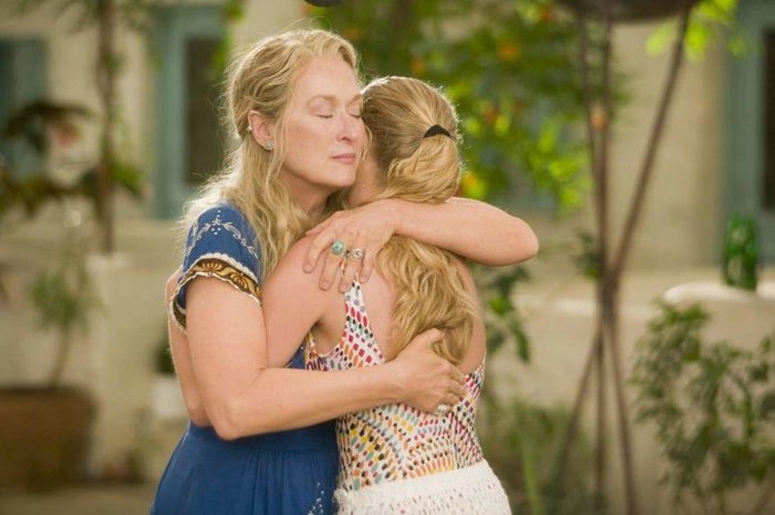 γιορτή της μητέρας ταινίες - σκηνή από το Mama mia