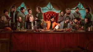 Σκηνή σε δείπνο από την ταινία ο κόσμος είναι ζόρικος