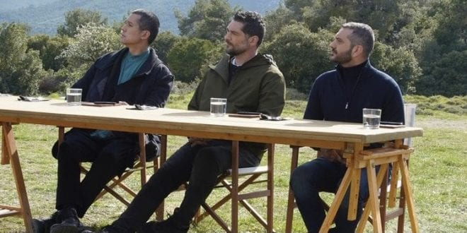 Οι τρεις κριτές απογοητευμένοι από την πανωλεθρία στην ομαδική δοκιμασία του MasterChef 5 χθες