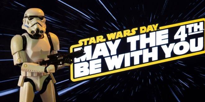4 Μαΐου Παγκόσμια Ημέρα Star Wars