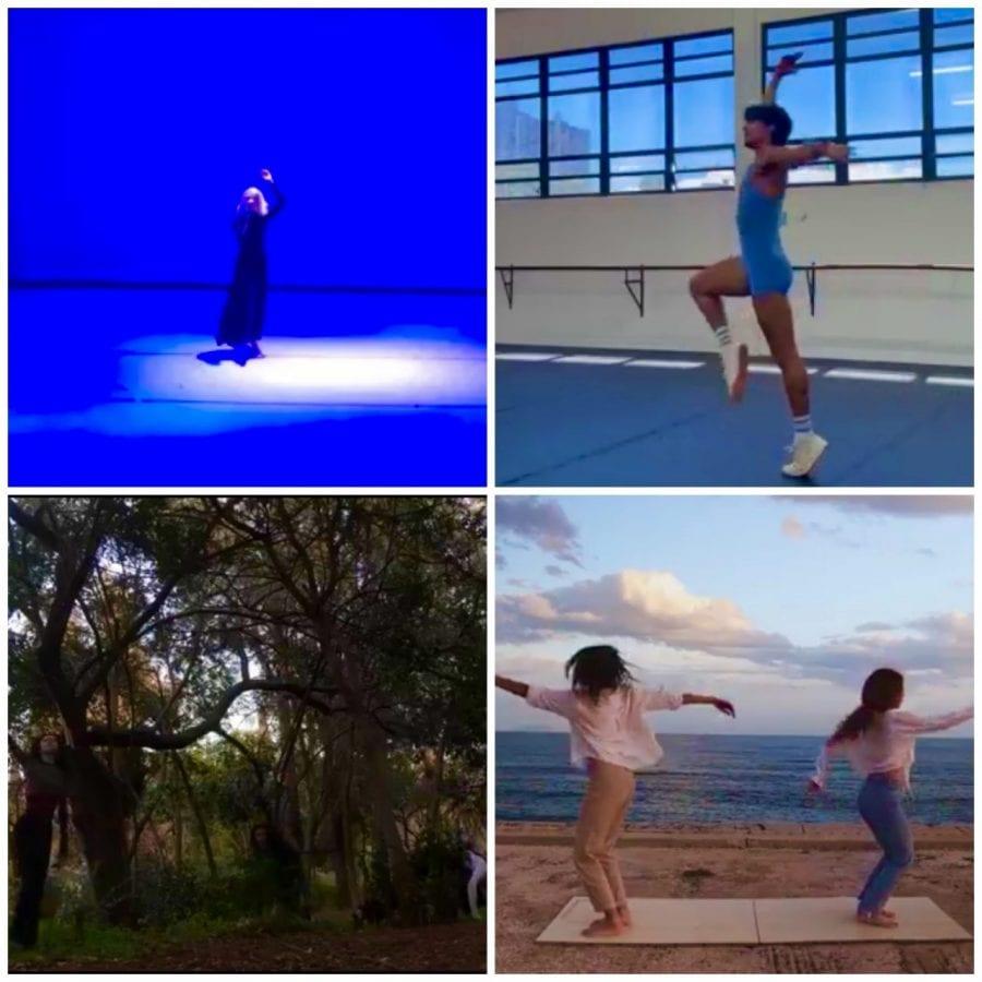 Art Unites Us All - χορευτε΄ς υπό τη μουσική συνθεση atenes της Domina Monriel