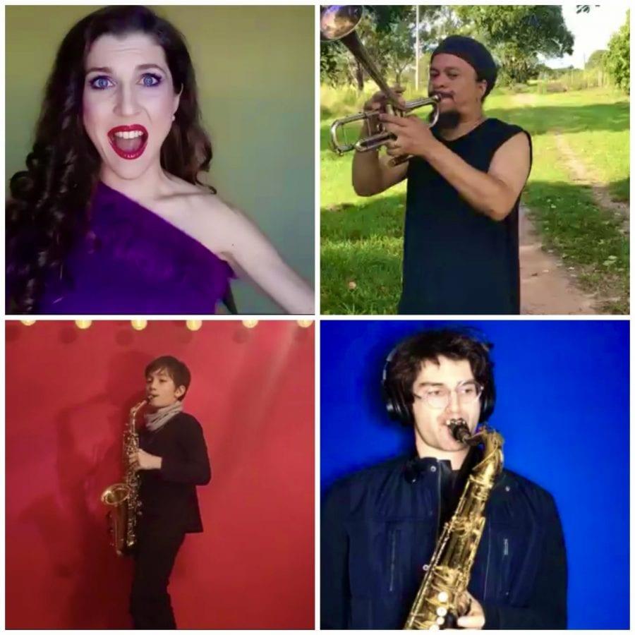Art Unites Us All - μουσικόι από όλο τον κόσμο παίζουν τη συνθεση της Domina Monriel